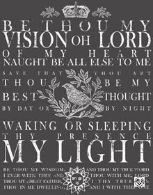 "IOD Décor Transfer ""Be Thou My Vision"" S"
